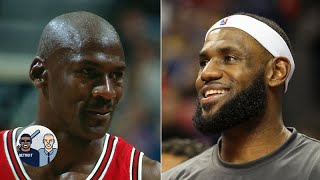 LeBron James is the GOAT, would beat MJ one-on-one in their primes - Miles Brown | Jalen & Jacoby