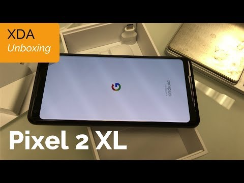 Unboxing The NEW Pixel 2 XL