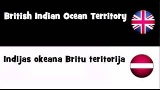 VOCABULARY IN 20 LANGUAGES = British Indian Ocean Territory
