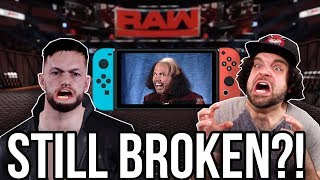 WWE 2K18 Nintendo Switch - 3 Patches, Still BROKEN?! | RGT 85