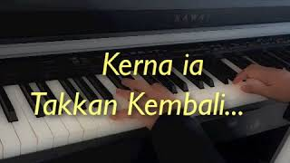 Demi Masa~~ Raihan~~ Short Piano Cover with lyrics~~ By Afeeffatini.