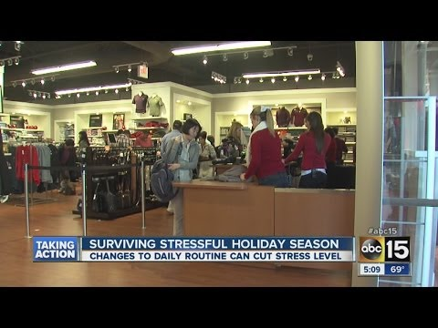 Expert tips to manage holiday stress