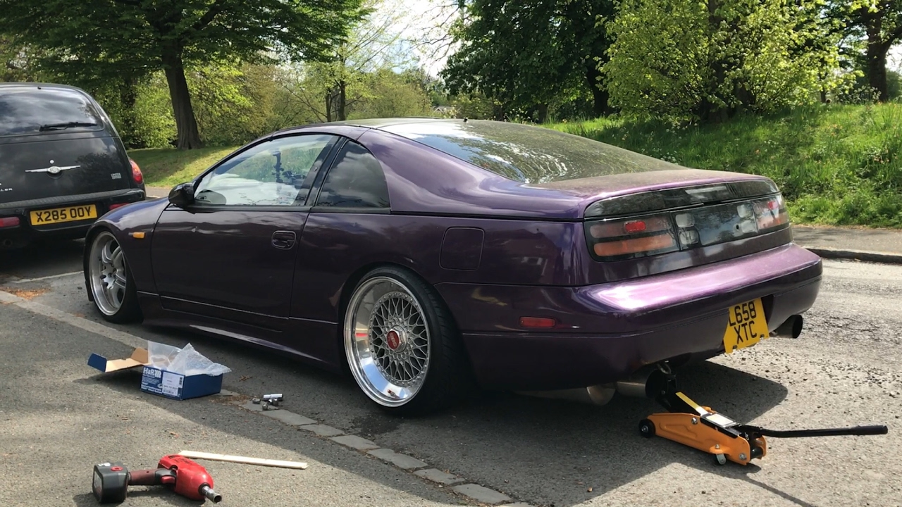 Thezfiles Jdm Nissan Z32 300zx Bbs Trial Fit And Plans For More