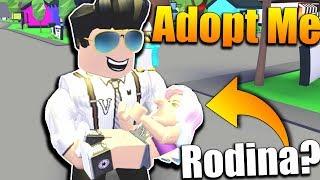 ADOPTOVAL JSEM SI MAKKY!😱😂😍 Roblox Adopt Me #1