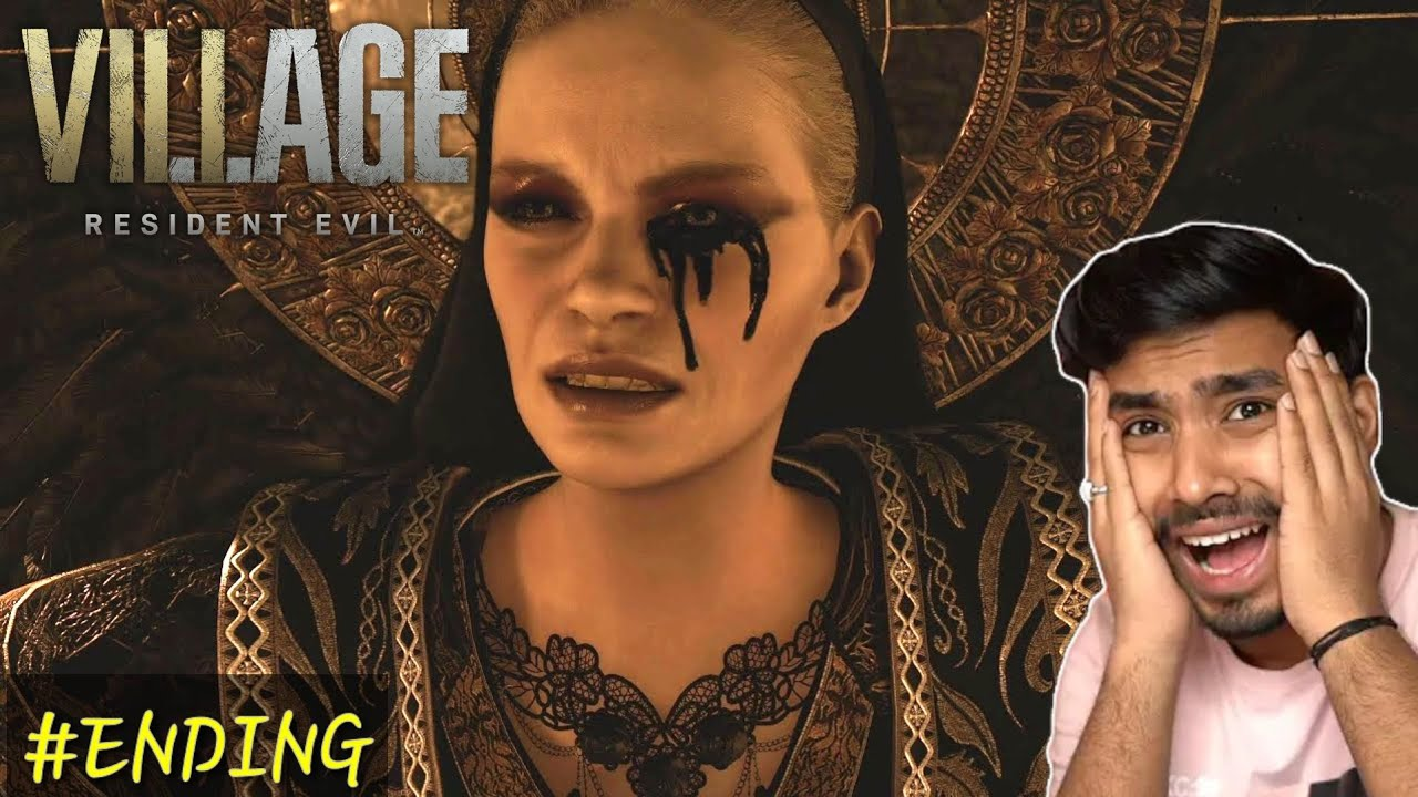 Download Resident Evil 8 village ENDING how to kill mother mirandra by TECHNO GAMERS.