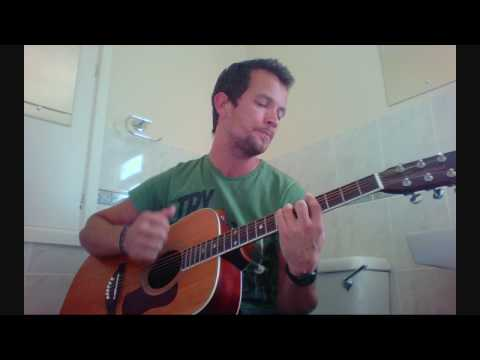 Inaudible Melodies - Jack Johnson Live Cover with Lyrics by Jonathan David
