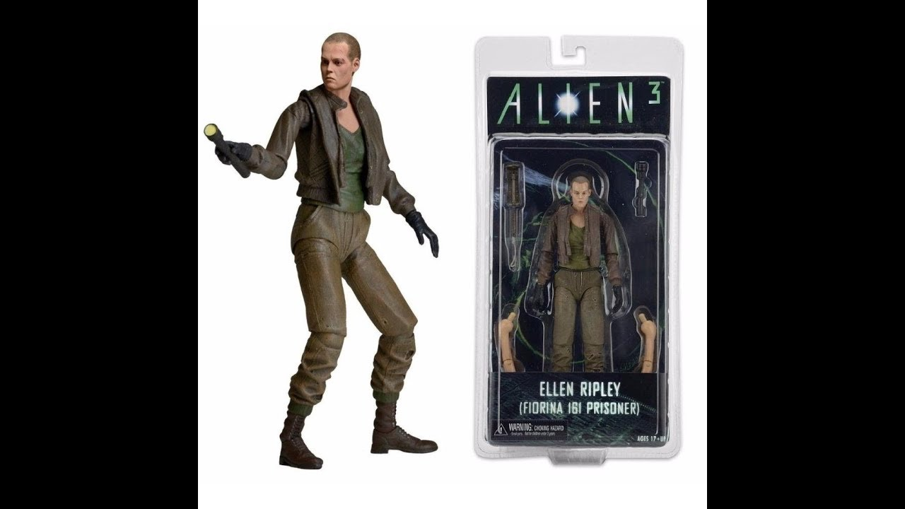 Ellen Ripley (prisioner Uniform) - Alien 3 - Series 8 - Neca