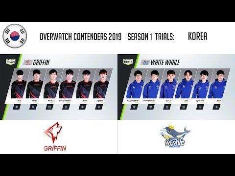 Team Griffin vs White Whale Incheon E-Sports vod