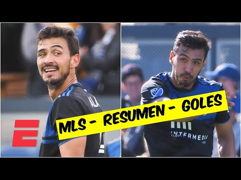 San José Earthquakes 2-2 Toronto FC. OSWALDO ALANÍS debutó con un GOLAZO   Goles de la MLS