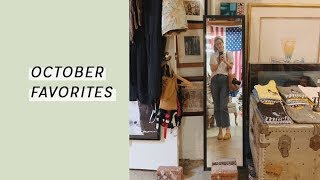 October Favorites: Green Beauty, Vegan Recipes, and Zero Waste Fashion | Alli Cherry