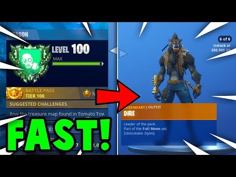 FASTEST Way To GAIN XP + TIER UP in SEASON 6 FORTNITE (Season 6 Battle Pass Guide)