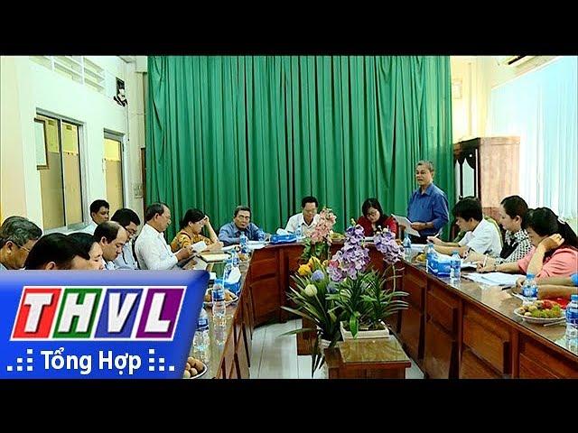 THVL | Đoàn ĐBQH đơn vị tỉnh Vĩnh Long giám sát tại Sở Tài nguyên và Môi trường