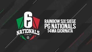 Rainbow Six Siege PG NATIONALS 2019 - Quattordicesima Giornata