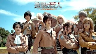 attack on titan   bts dope   dance cover by kcdc