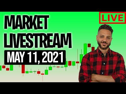 Market Open LiveStream 🚨📈 | Stocks & crypto to buy now