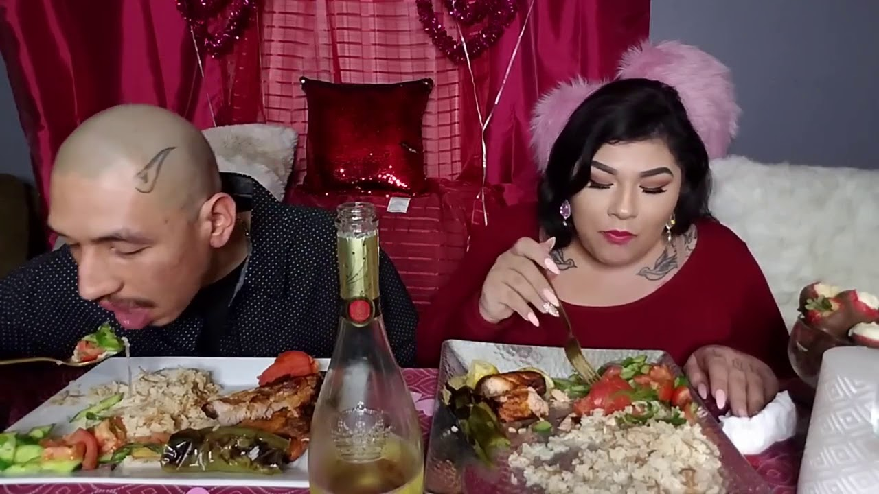 Valentine S Day Special Mukbang Youtube