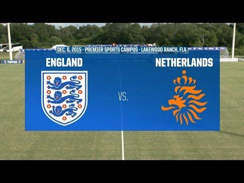 2015 Nike International Friendlies: England vs. Netherlands