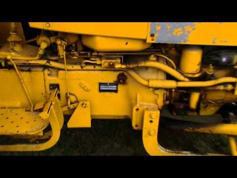 Yellow Farmall IH International 2424 Antique tractor at Deerfield Fair NH 2012
