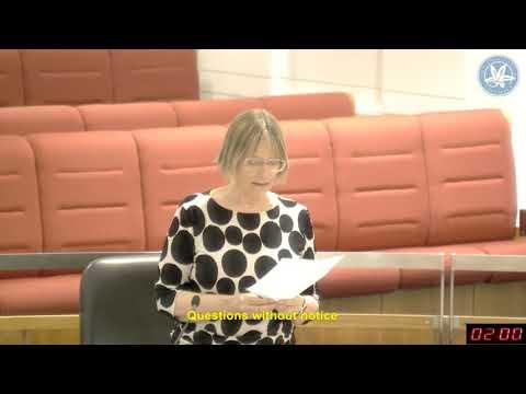Legislative Assembly - Question Time - 26-10-17
