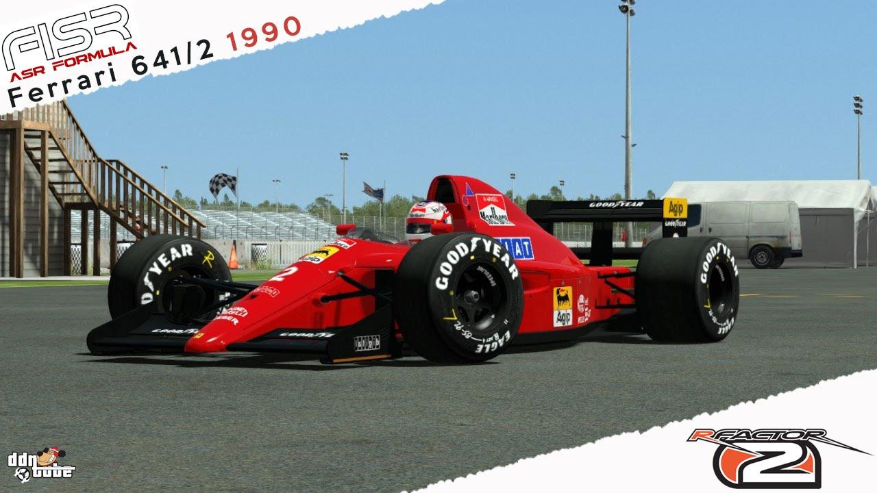 Rfactor2 Ferrari 641 2 1990 Nigel Mansell Real Onboard Cam