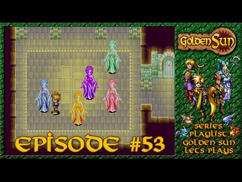 Golden Sun - Tunnel Ruins Treasure Hunt - Episode 53