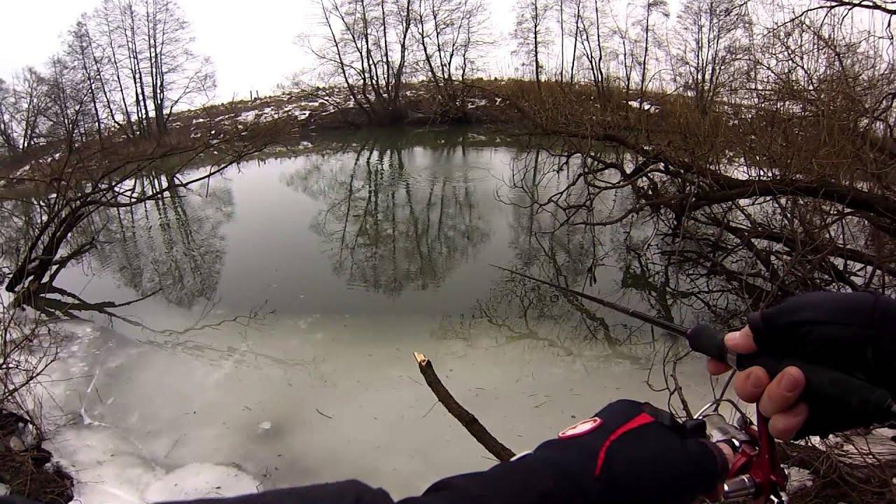рыбалка ранней весной видеоролики