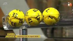 Eurojackpot - Ziehung vom 17. April 2020