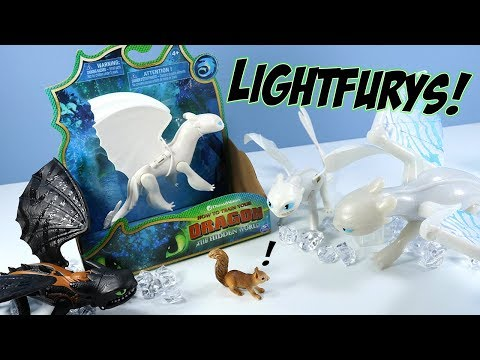 How to Train Your Dragon 3 The Hidden World Light Fury Spin Master Toys