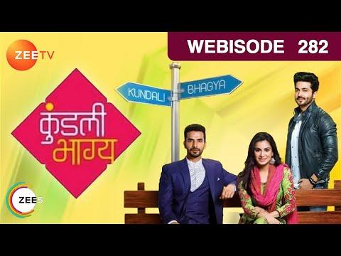 Kundali Bhagya - Sherlin Finds Out About Karan's Plan - Ep 282 - Webisode | Zee Tv | Hindi Tv Show