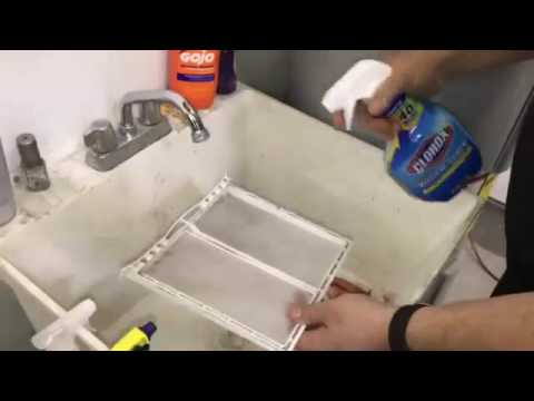 How to Clean a Dryer Lint Trap
