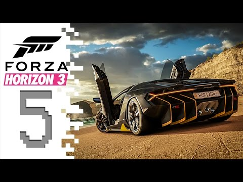 Forza Horizon 3 - EP05 - Parking Lot Drifting!