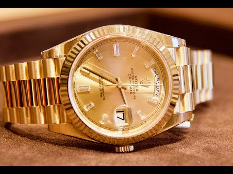 Is The Rolex Day-Date 40