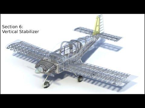 RV-14A Vertical Stabilizer