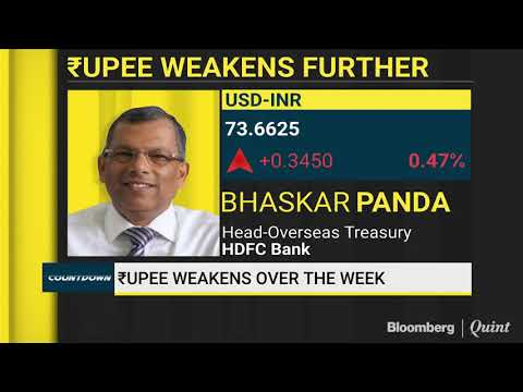 Bhasker Panda On The Weakening Indian Rupee Against The Dollar