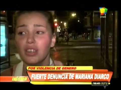"""Mariana Diarco mostró los """"manotazos"""" de El Dipy"""