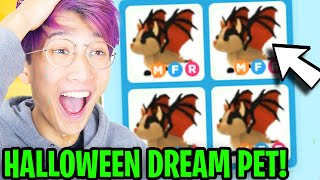 Can LANKYBOX SURPRISE BEST FRIEND With HALLOWEEN DREAM PET In ADOPT ME!? (MEGA NEON BAT DRAGON!?)
