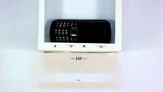 Samsung B2710 Xcover. Падение на ковер с 1,5 метра