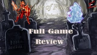 Скачать GAME REVIEW Age Of Fear The Undead King Full Game Review Steam PC Game Reviews