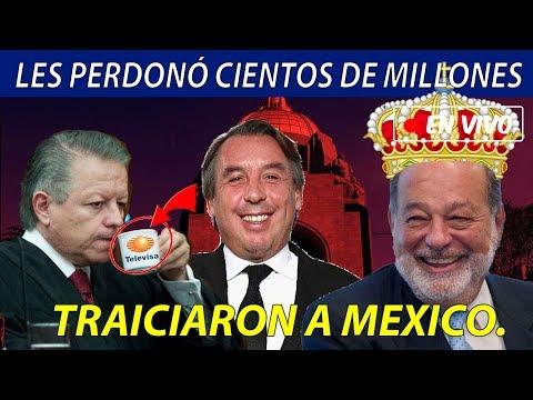 SE DESENMASCARA la SCJN, pues BENEFICIÓ a Televisa, Tv Azteca y Telcel con CIENTOS de Millones