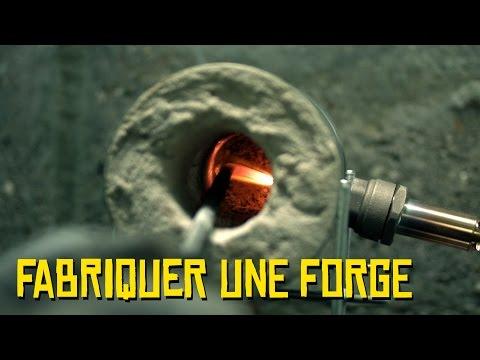 Expérience - Fabriquer une forge - Dr Nozman