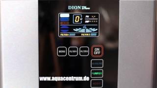 Wasserionisator Dion Blue | Produktion von basischem Aktivwasser