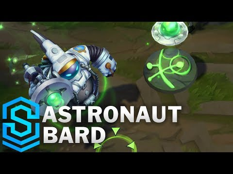 Astronaut Bard Skin Spotlight - League of Legends