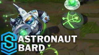 Astronaut Bard Skin Spotlight - League of Legends