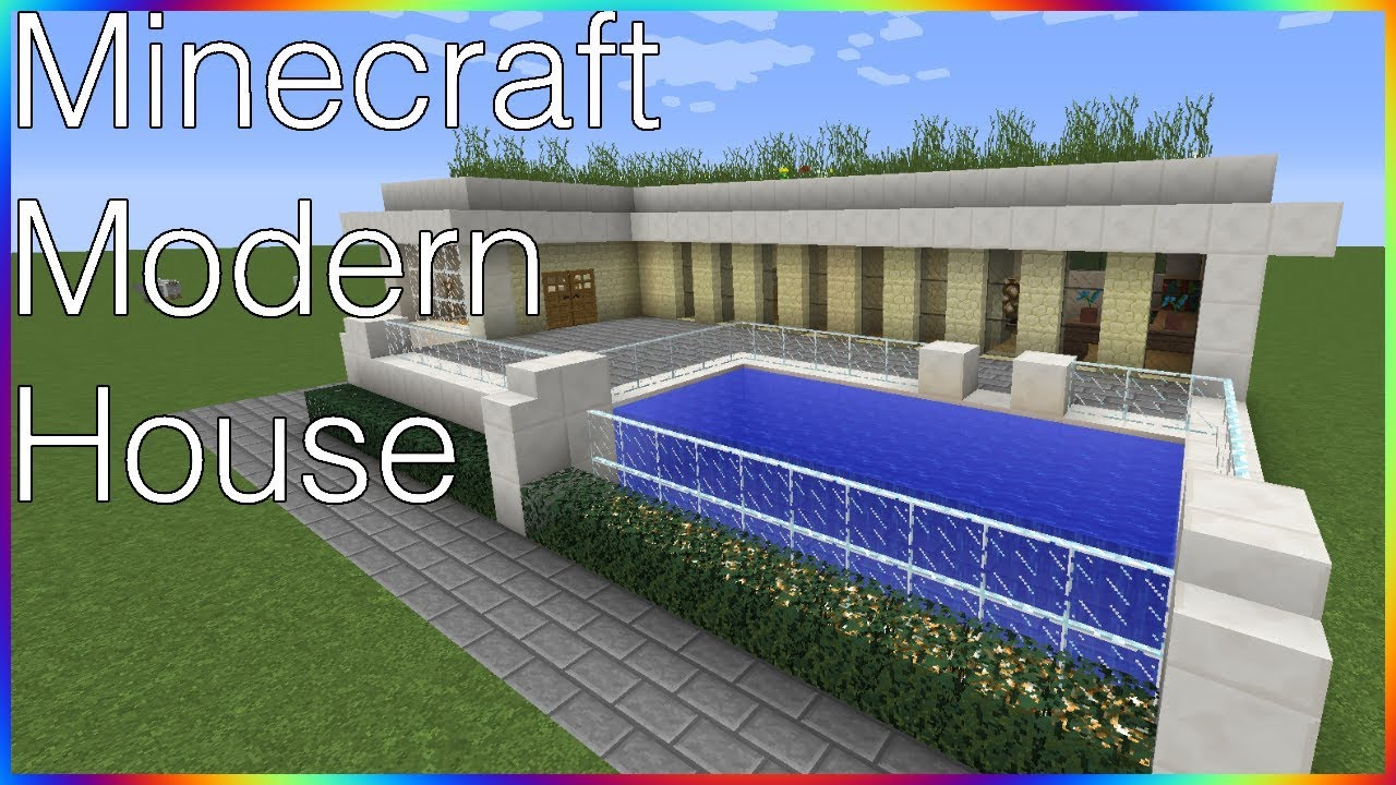 Minecraft Modern House 3 Timelapse YouTube