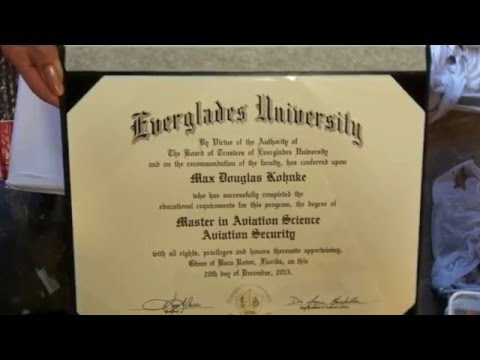 Everglades University 2016 graduation ceremony