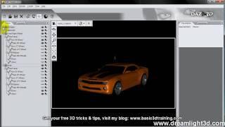 vrooom getting your daz studio car animation realistic part 1 of 2