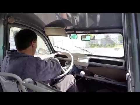"Come take a ride in ""Antoine"" a 1963 Citroen 2CV Truckette (furgoneta)"