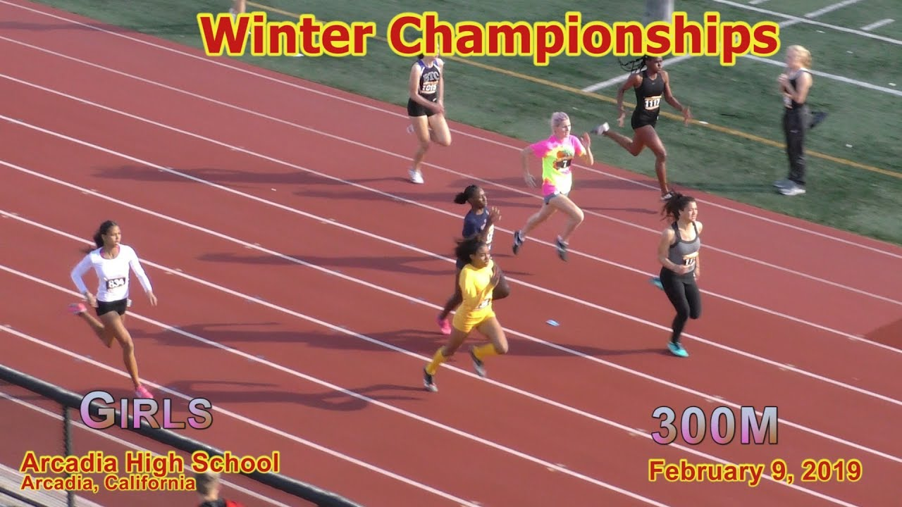 2019 TF - Winter Championships - 300 (Girls, 9 Heats)