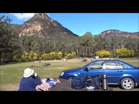 Blue Mountains Newnes Picnic and Camping Area Wolgan Valley NSW Australia