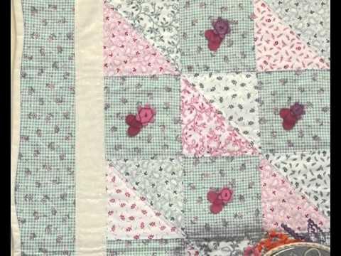 Quilting y patchwork acolchado con embellishment youtube - Acolchados en patchwork ...